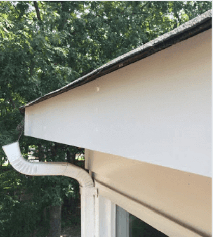 gutter downspout issues
