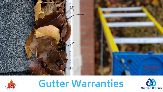 gutter warranties