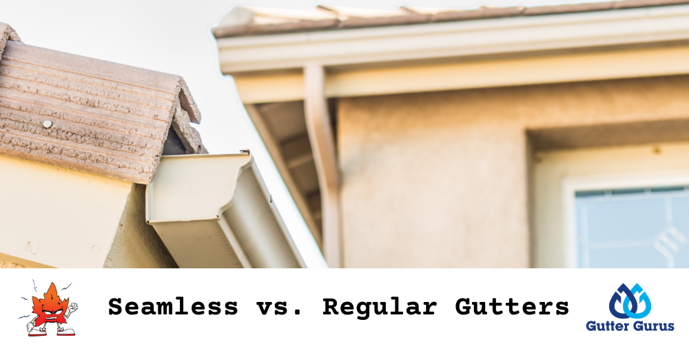 seamless vs regular gutters
