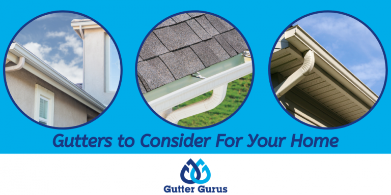 types of gutters